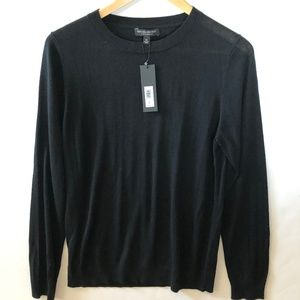 NWT Silk/Cashmere BR Sweater M